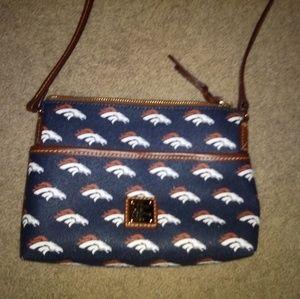 Dooney and Bourke NFL broncos purse